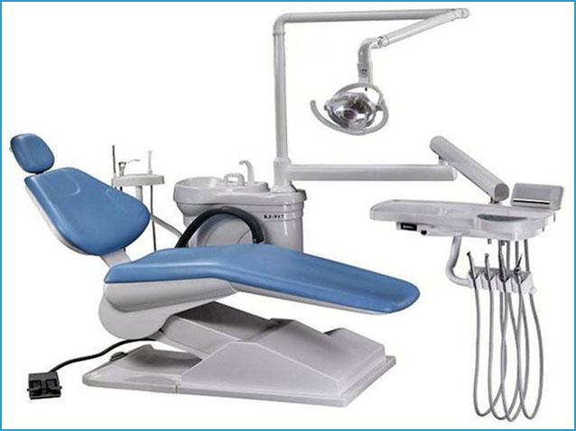 ghế máy giúp cho Bác sĩ và bệnh nhân thỏa mái trong nhiều giờ.
